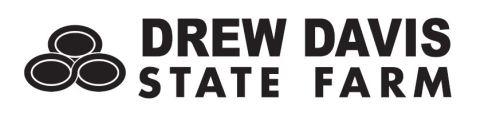 Drew Davis State Farm logo