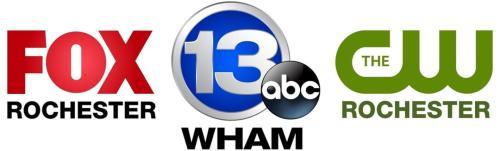 13 Wham News & FOX Rochester logo