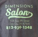 Dimensions Salon logo