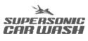 Supersonic Carwash logo