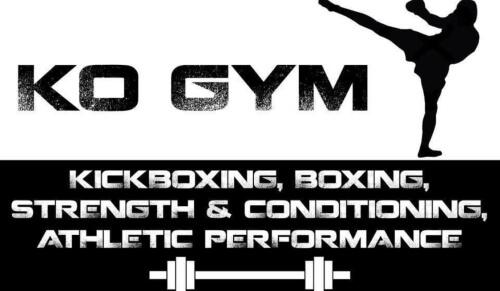 K O GYM logo