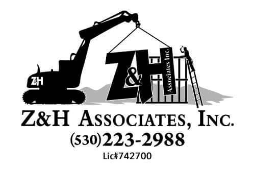 Z and H Associates, Inc. logo