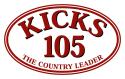 KICKS 105 logo