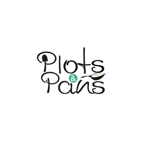 Plots & Pans logo