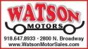 Watson Motors logo