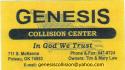 Genesis Collision logo