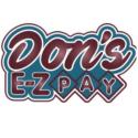Don's E-Z Pay logo