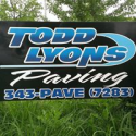 Todd Lyons Paving logo
