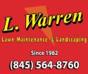 L. Warren Lawn Maintenance & Landscaping logo