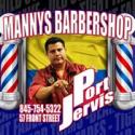 Manny's Barbershop logo