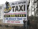 Port Jervis Taxi logo