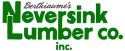 Berthiaume's Neversink Lumber logo