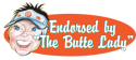 The Butte Lady logo