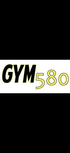 Gym 580 logo