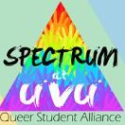 Spectrum: Queer Student Alliance  logo
