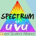 Spectrum: Queer Student Alliance  logo