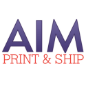 AIM Print and Ship logo
