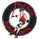Red Stick Roller Derby logo