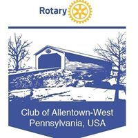 Allentown West Rotary Club logo