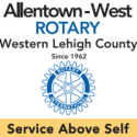 Rotary Club of Allentown West logo