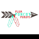 Plum Punchy Purdy's  logo