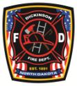 Dickinson Fire Department logo