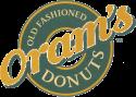 Oram's Donut Shop logo