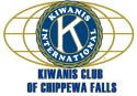 Kiwanis Club of Chippewa Falls logo