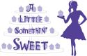 A Little Somethin' Sweet logo