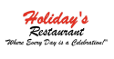 Holiday's Restaurant logo