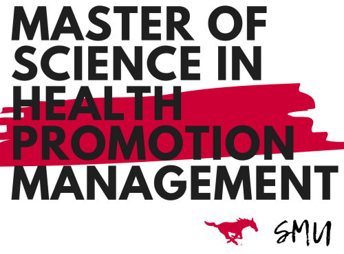 SMU Master of Science in Health Promotion Management  logo