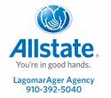 Allstate-LagomarAger Agency logo
