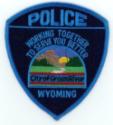 Green River Police Dept logo