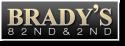 Brady's Bar logo