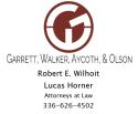 Garrett, Walker, Aycoth, Olsen - Robert Wilhoit & Lucas Horner, Attorneys at Law logo