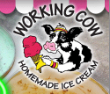 Working Cow Ice Cream logo