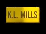 K. L. Mills logo