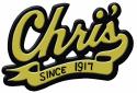 Chris' Hot Dogs logo