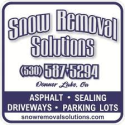 Snow Removal Solutions  logo