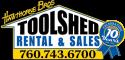 Toolshed Rental & Sales logo