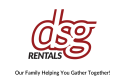 DSG Rentals logo