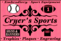 CRYER'S Sports  logo