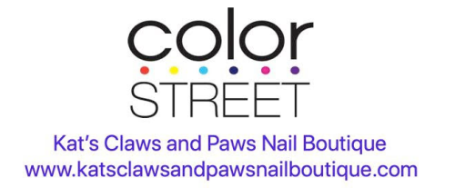 Kat's Claws and Paws Nail Boutique logo