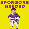 Sponsors needed-sign up TODAY logo