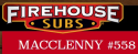 Firehouse Subs of Macclenny logo