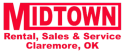 Midtown Rentals & Sales-Gold Buckle Sponsor logo