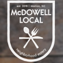 McDowell Local logo