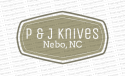 P &J Knives logo
