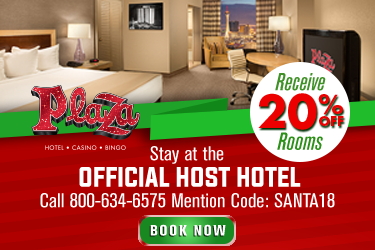 Las Vegas Great Santa Run Plaza Hotel Offer