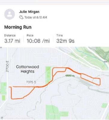 Julie Morgan Virtual Result Proof